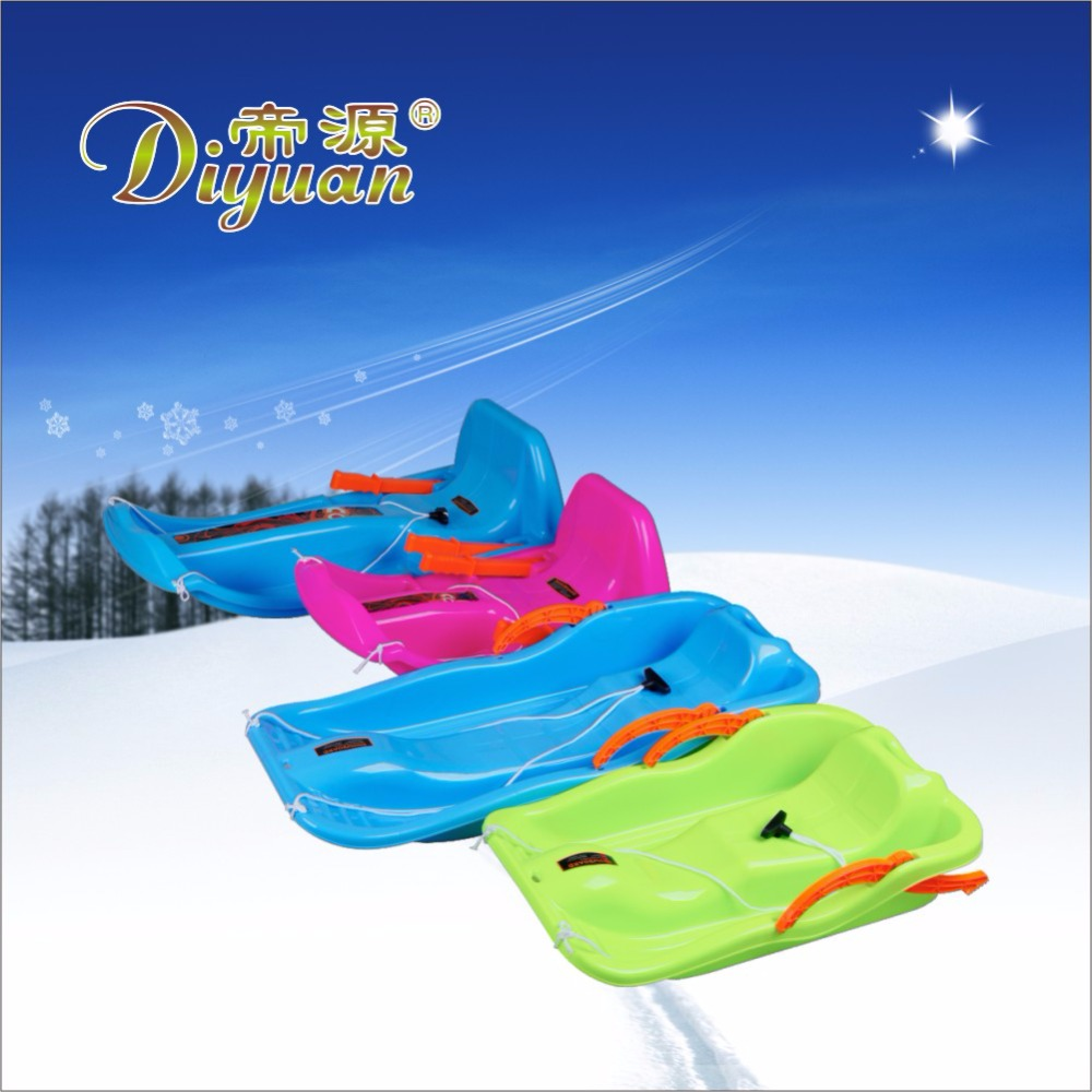 SNOWBOARD Winter kids plastic snow sled as promotional toys SNOWSLEDGE