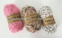 cotton polyester blended yarn polyester ring spun yarn polyester dope dyed yarn