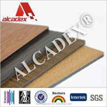 4mm false wood panels/washable wall panels/acp sheets