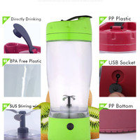 protein shaker bottles electric mini travel personal smoothie juicer blender