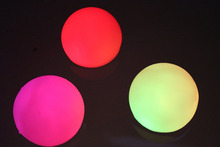 Set of 12 Mood Light Garden Deco Balls (Light up Orbs)