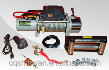 Small Winch 12v Electric Winch 13800 lbs For Boats