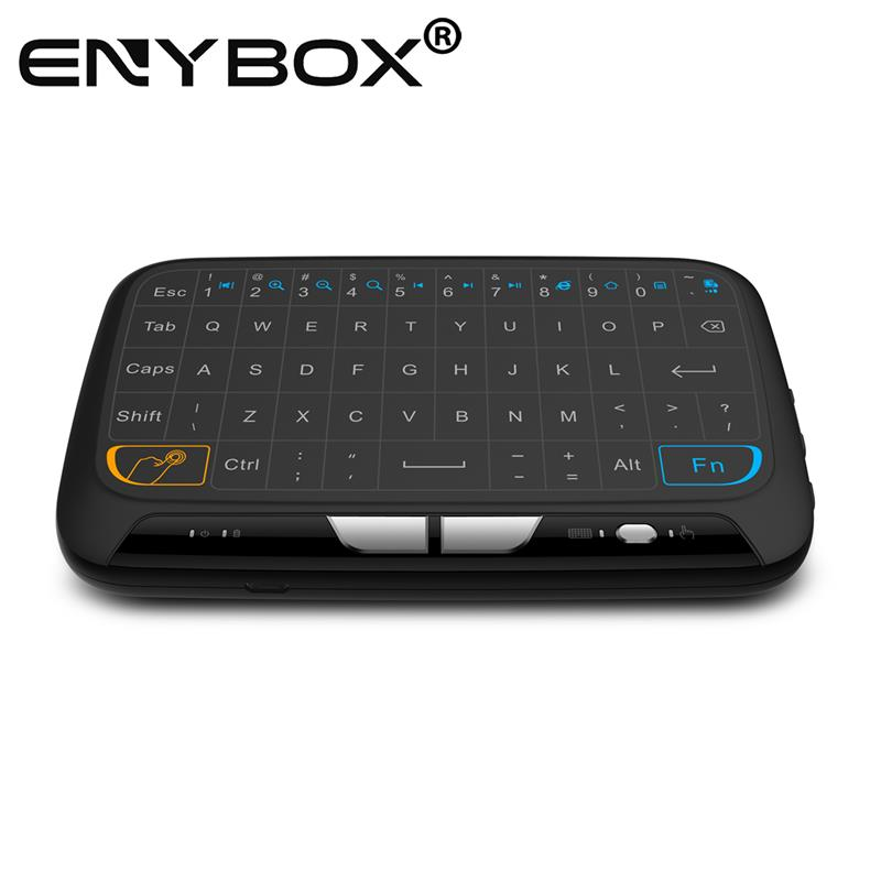 best selling h18 2.4g wired mini keyboard with touchpad