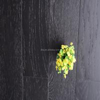 Best Price Oak Brushed Multilayer Natural Hardwood Flooring Dark Color