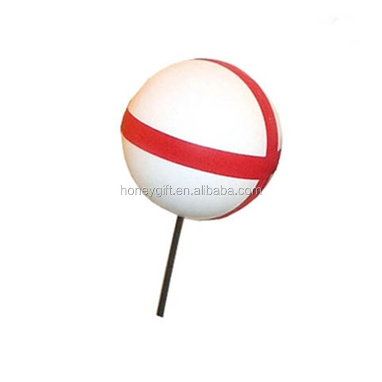 wholesale promotion ANTENNA TOPPERS Cross Ball stress ball