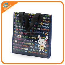 Wholesale lamination PP woven lunch box bag
