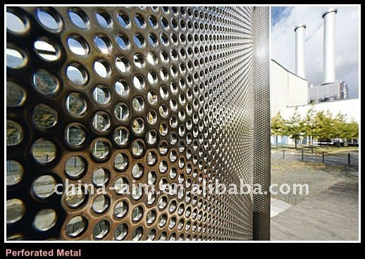 Architecture metal screen / Decorative metal wall perforated metals/ perforated metal sheets