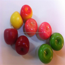 2016 China supplier 35mm Fake Plastic Fruit Artificial APPLES Small