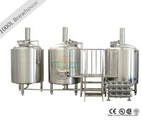 1000 L used micro brewing equipment for sale