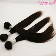 homeage best quality virgin hair tangle free beauty samples