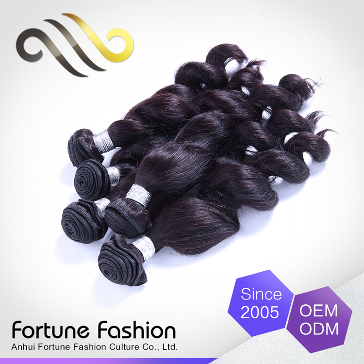 Noble hair extension loose wave most demanded products indian human hair weave extension golden hair supplier