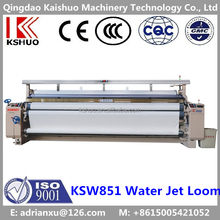 2016 CHINA KSHUO KSW851 plain/cam/dobby shedding polyester weaving water jet loom/machine