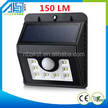 New products 8LED outdoor waterproof solar sensor wall light electric lights in the human body