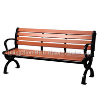 hospitality supplies wholesale outdoor furniture wooden bench modern long chair for rest station park leisure wood chairs HY15