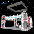 China Supplier Cheap trade show booth aluminum truss display stand builder