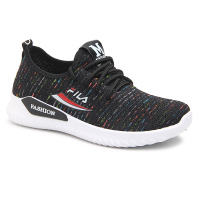 Fly knit breathable sports shoes women cheap ladies casual shoes lace-up cheap shoes wholesale
