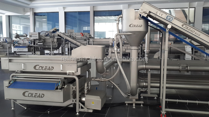 SUS 304 SAND STEEL Pipe washing sterilization machine/Vegetable and fruit sterilization machine/vegetable processing line