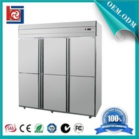 Hotel Kitchen Equipment commercial Upright Refrigerator