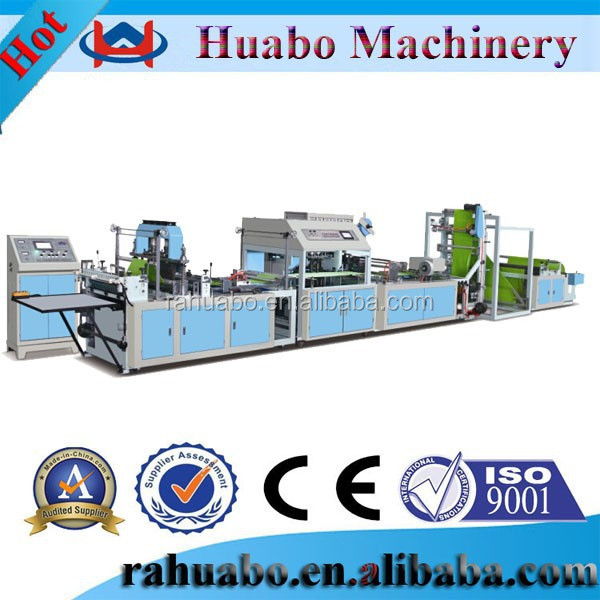 Better machine ultrasonic automatic bottom cut and seal bag making machine,automatic machinery,automatic machines non woven