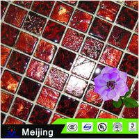 New products mosaic pattern stone wall painting for bathroom accessories