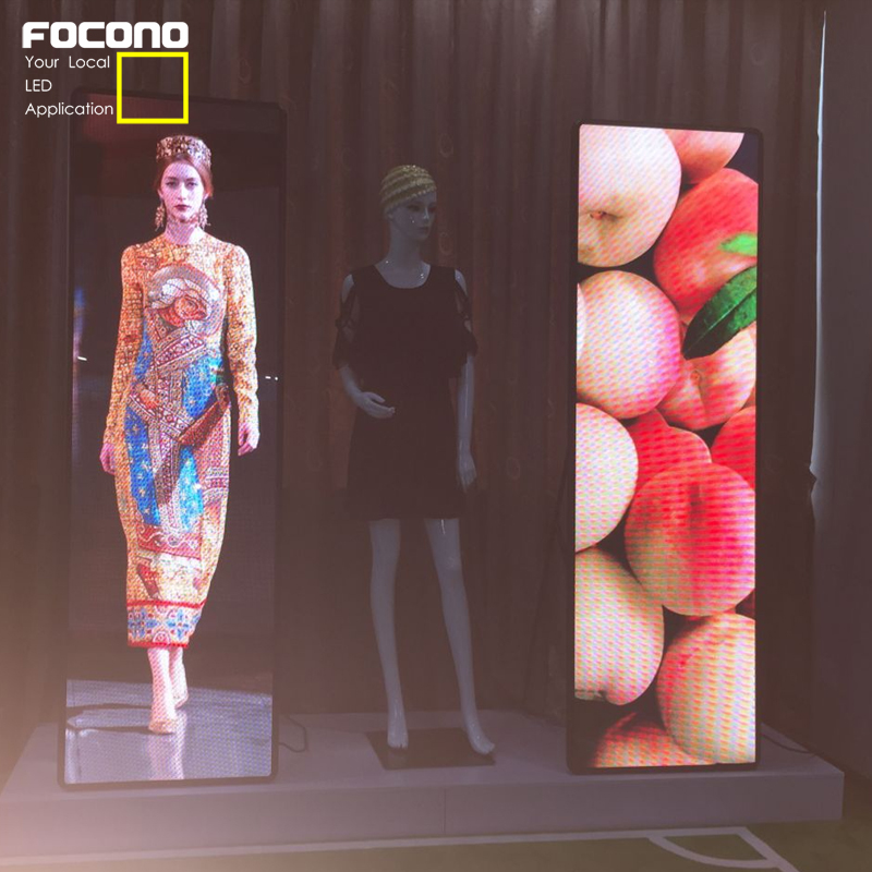 creative led screen flexible video china indoor led display glass led display