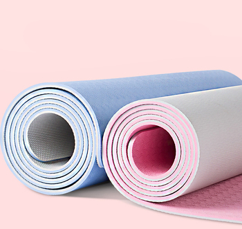 Top quality TPE Yoga mat with carrying strap and bag