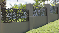 decorative metal fence made by YIWEI