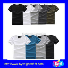 100% cotton cheap wholesale mens blank t shirts design for election suit