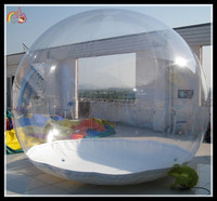 Beautiful inflatable greenhouse / inflatable snow ball / outdoor inflatables