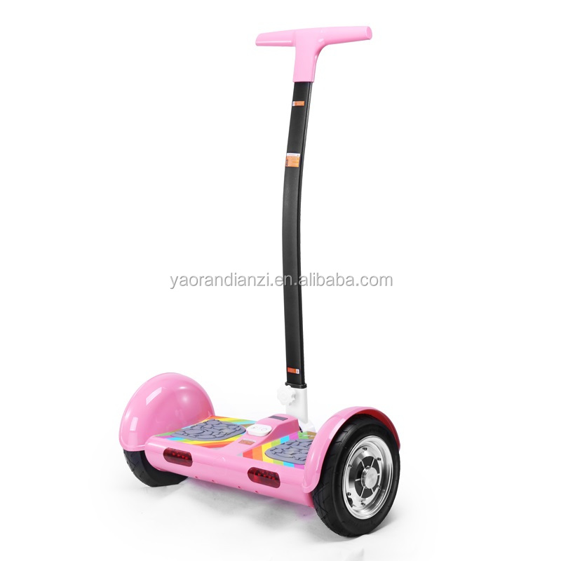 "Electric Chariot scooter two wheel self balance electric chariot scooter 19"" handle bar 2 wheel electric scooter"
