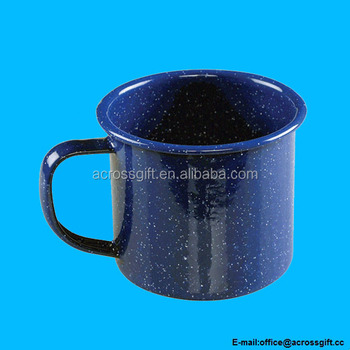 12 Ounce Enamelware Ceramic Coffee Mug Blue Buy 12