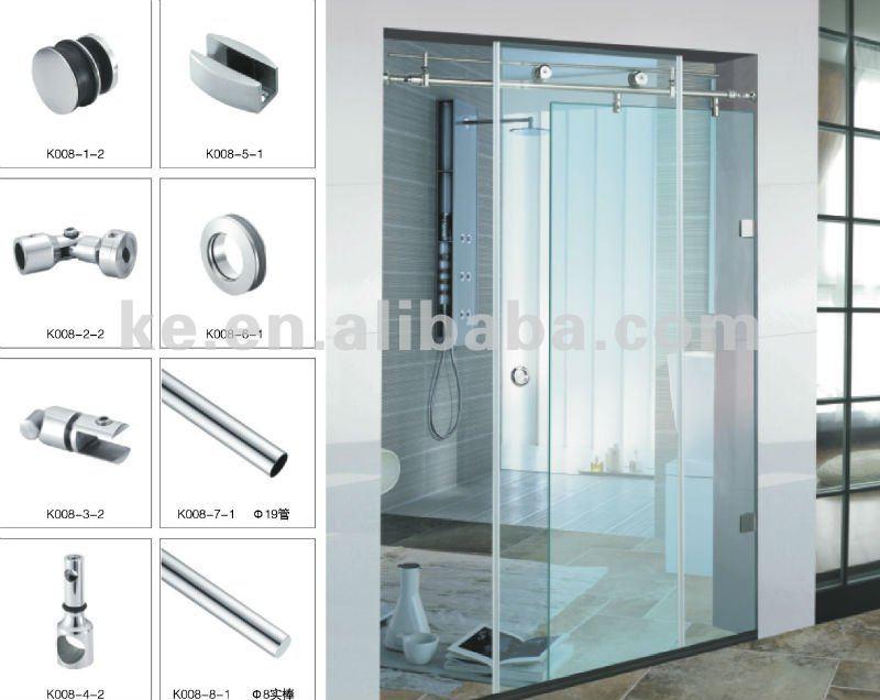 Shower door accessory,Bathroom hardware ,K008, View Sliding shower ...