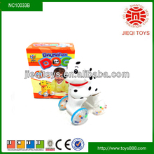 2013 Newest promotion gift hotting sale air pressure toys plastic camel toy with light and music three design for choose