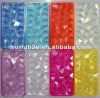 Triangle Cell Phone 3D Crystal Case For iPhone 4 4s