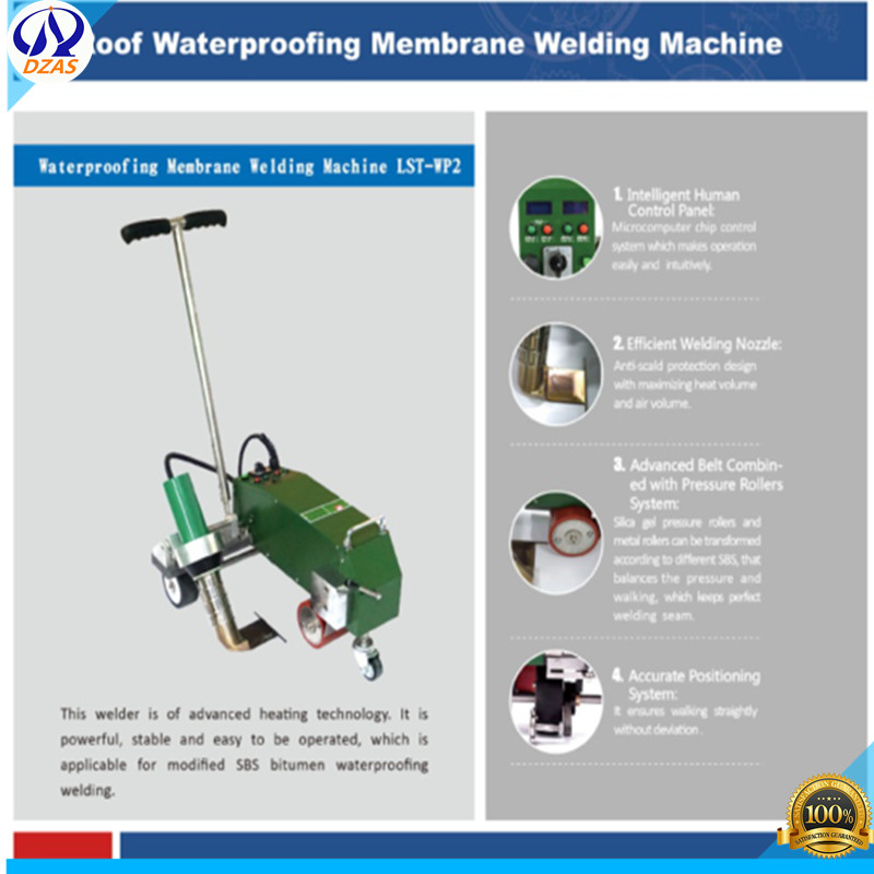 geomembrane liner hot wedge welding machine LST-WP2 price