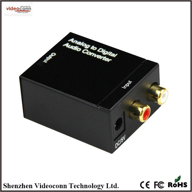 Analog to Digital Audio Converter Optical or Coaxial out