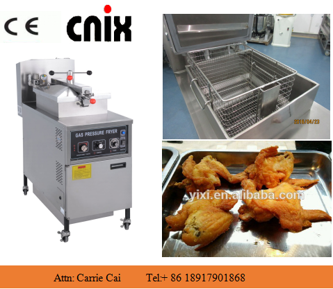 restaurant fries fryer/broast chicken machine/broaster pressure fryer