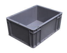 Heavy Duty Attached Lid Container / Lidded Plastic Storage Box (PK-4316)