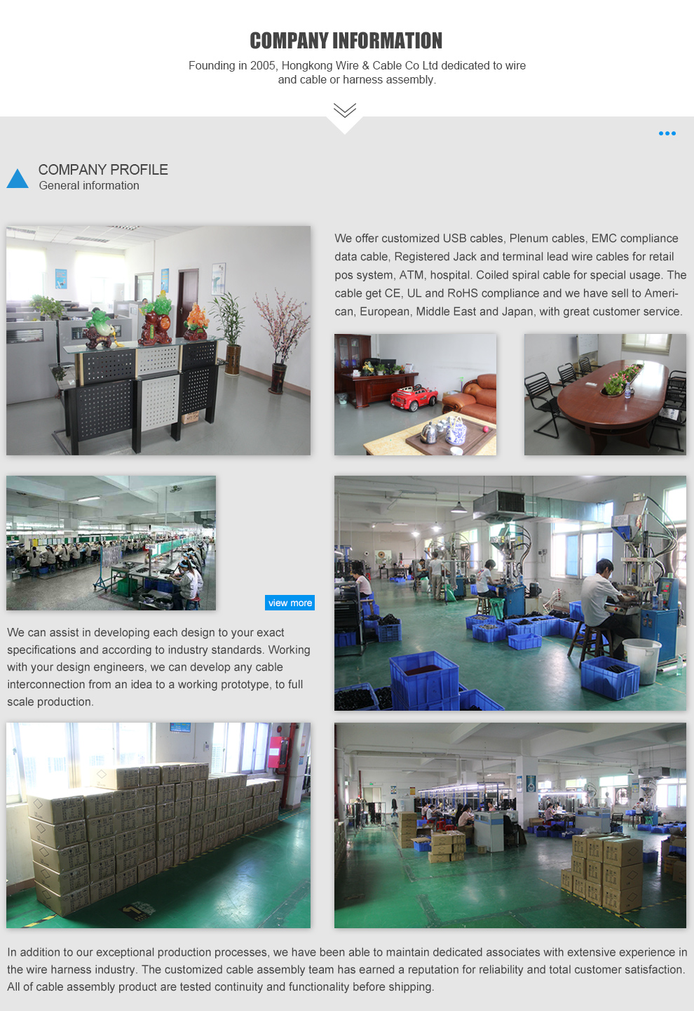 Shenzhen Hongkong Wire & Cable Ltd. - telecommunication cable,SJOW ...