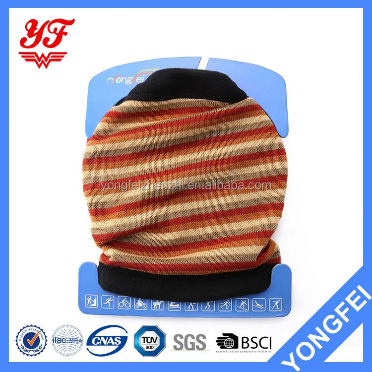 Factory Supply good quality knit neck warmer circle scarf directly sale