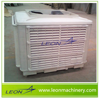 LEON series honeycomb evaporative air cooler with water