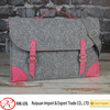 Hot sale new fashion wool felt material laptop sleeve for girls