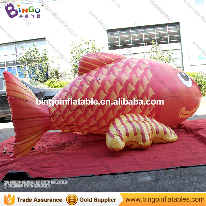 <strong>Inflatable</strong> carp flying big fish hanging outdoor water Park with CE
