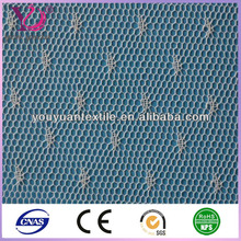 Dots Jaquard yard dyed Polyester nylon net mesh fabric for wedding dress mosquito