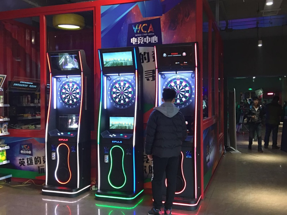 Arcade billiard room professional darts board indoor sports coin operated electronics dart machine