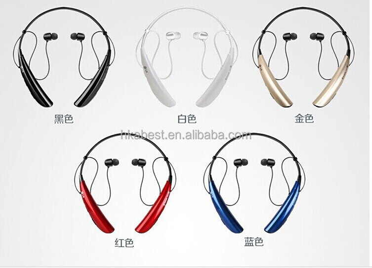 Best quality rechargeable HBS 750 bluetooth headset,Headphone,bluetooth handsfree wireless earphone for mobile phone earphone