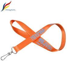 YIFY Single Personalize Metal Accessory Custom Logo Silkscreen Print Nylon Promotion Lanyard