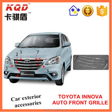Best selling ABS Plastic auto car accessories high quality front grille for Toyota innova