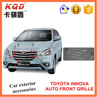 Best selling ABS Plastic auto front grille for toyota innova car accessories high quality grille innova