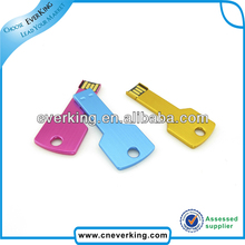 bulk key shaped usb flash disk driver download with high speed USB 2.0